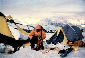 Krzysztof Wielicki alpinista zdjęcie góry